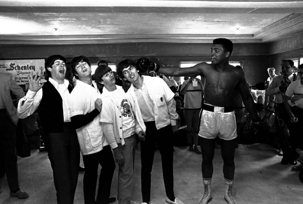 The-Beatles-Muhammad-Ali