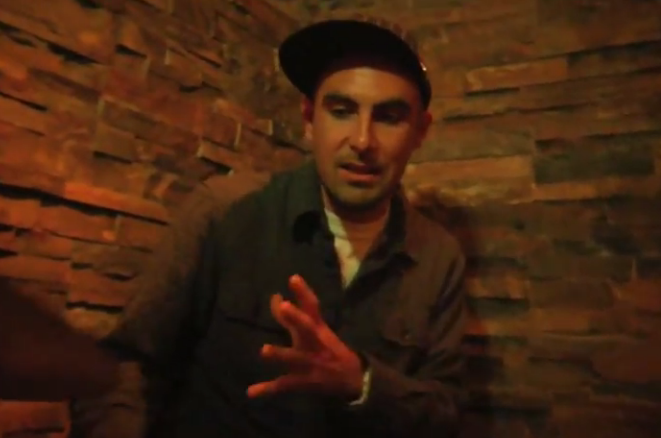 Video: Lunch with Thes One (of People Under The Stairs)