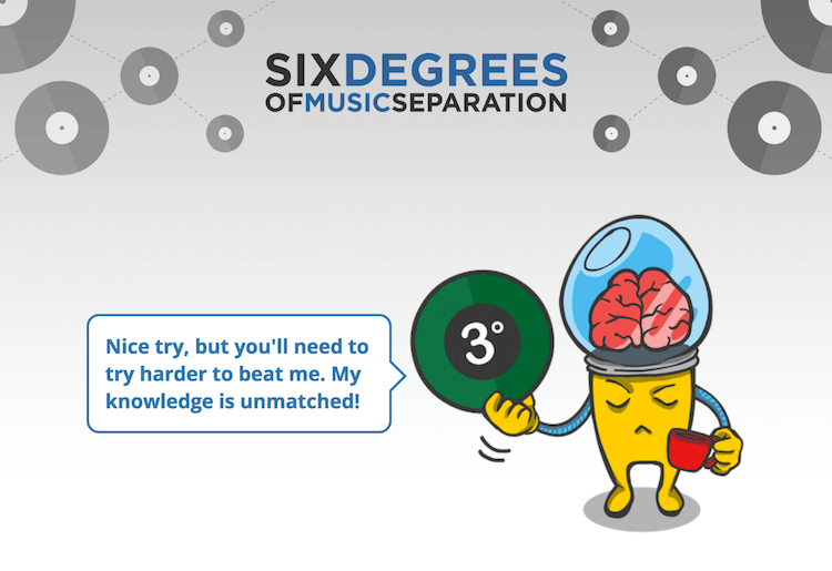 Try: Six Degrees of Music Separation
